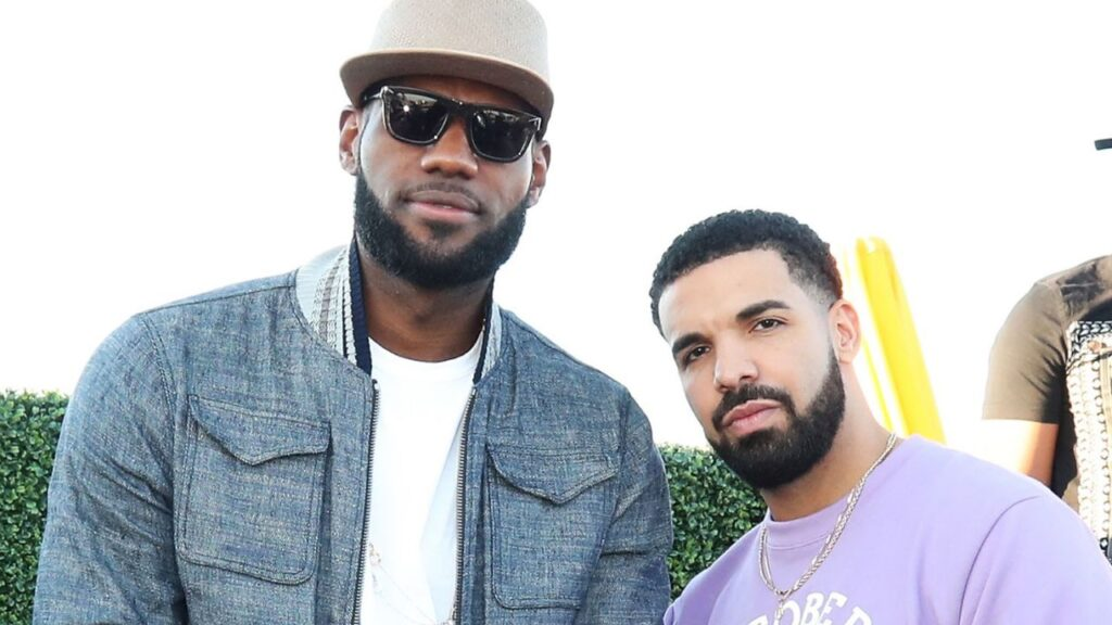 Drake's Breaking Apple Music's Record Gets LeBron James' Attention