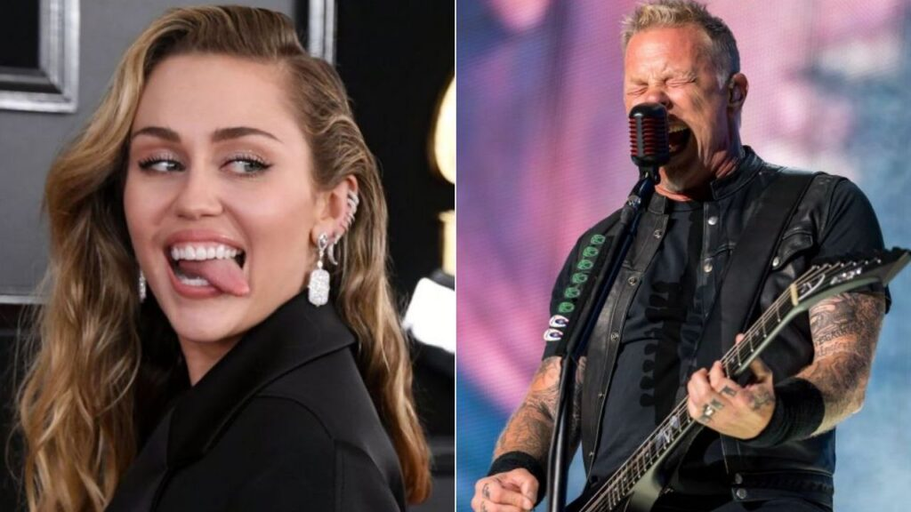 Metallica and Miley Cyrus To Officially Perform On The Howard Stern Show